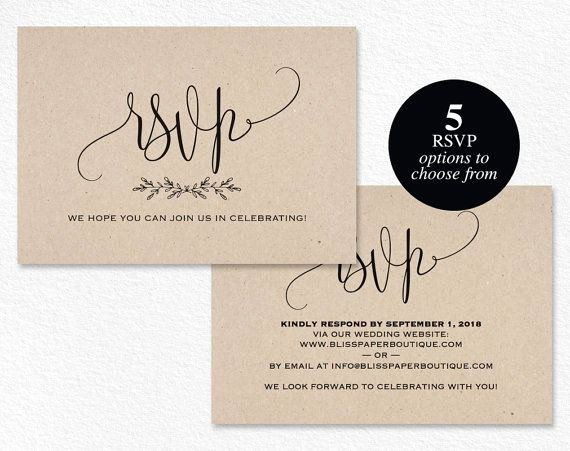 Wedding Rsvp Postcards Template Lovely Rsvp Postcard Rsvp Template Wedding Rsvp by