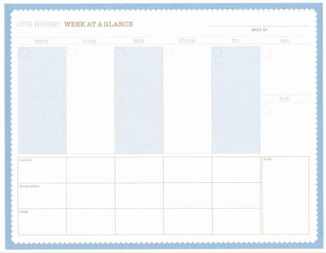 Week at A Glance Templates Fresh 1000 Ideas About Goal List On Pinterest