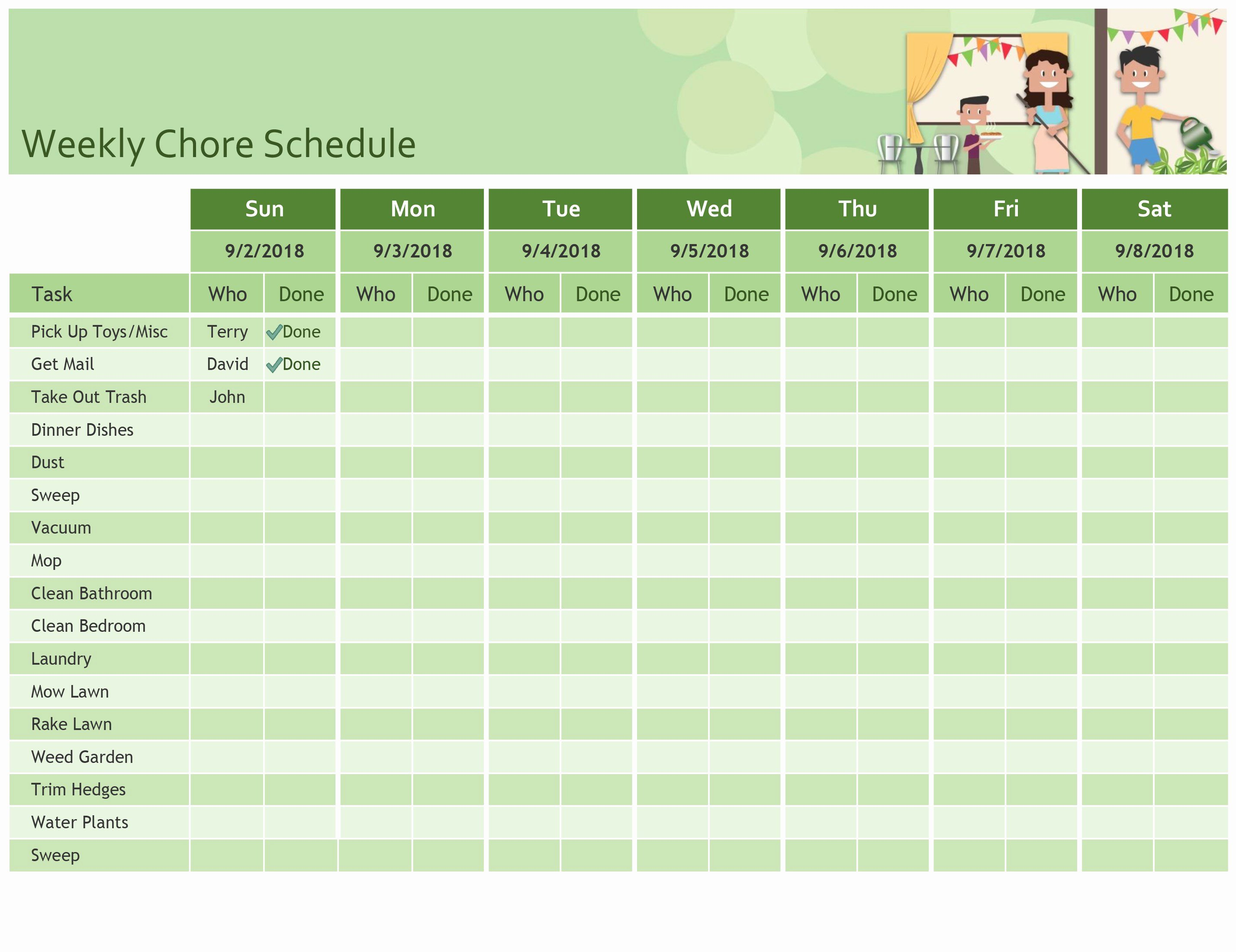 Week Schedule Template Excel Lovely Schedules Fice