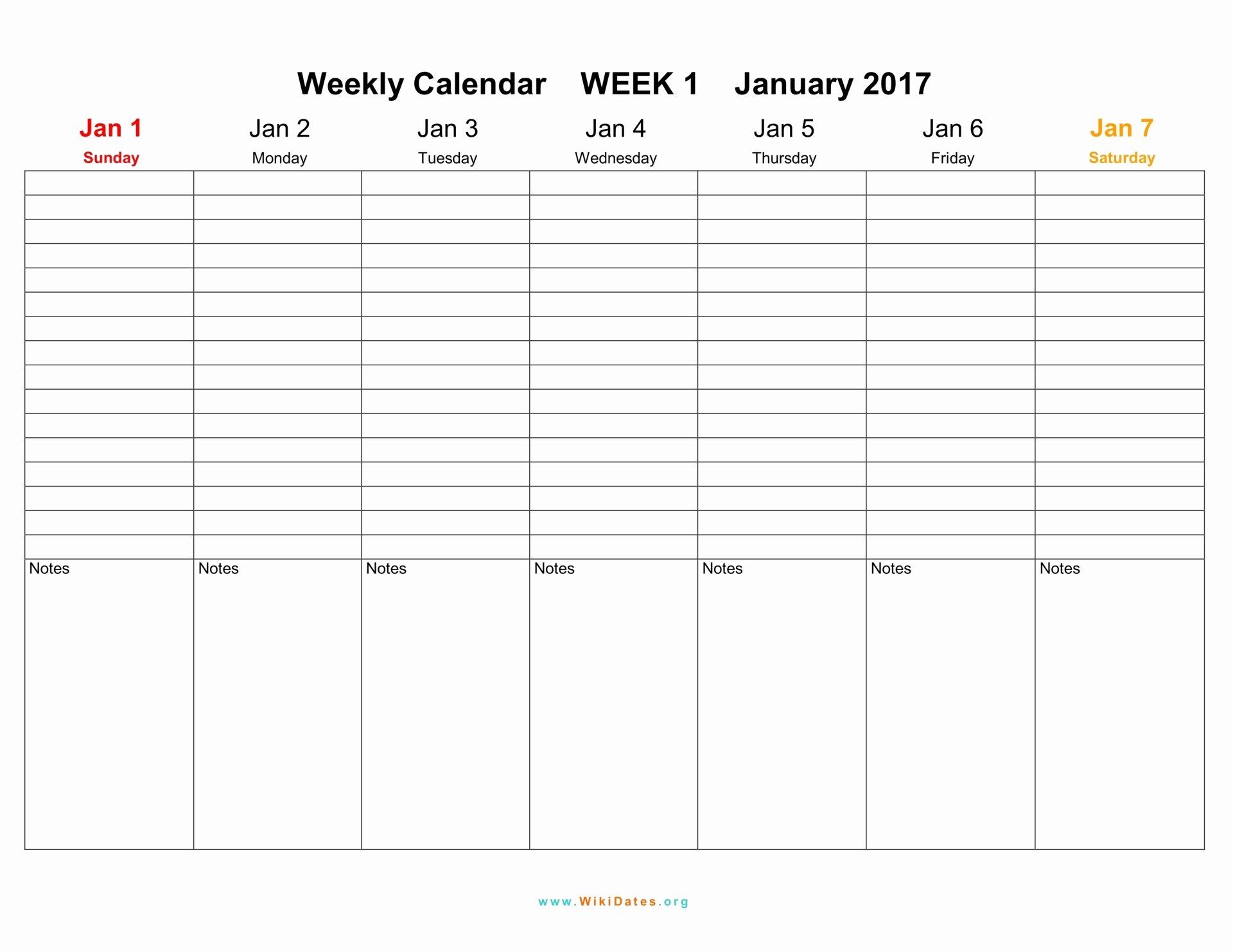 Weekly Calendar Template 2017 Beautiful Weekly Calendar Download Weekly Calendar 2017 and 2018