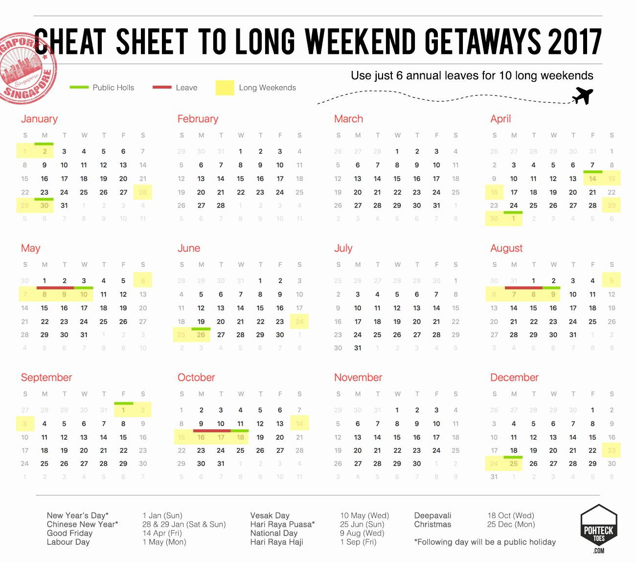 Weekly Calendar Template 2017 Lovely Public Holidays 2017