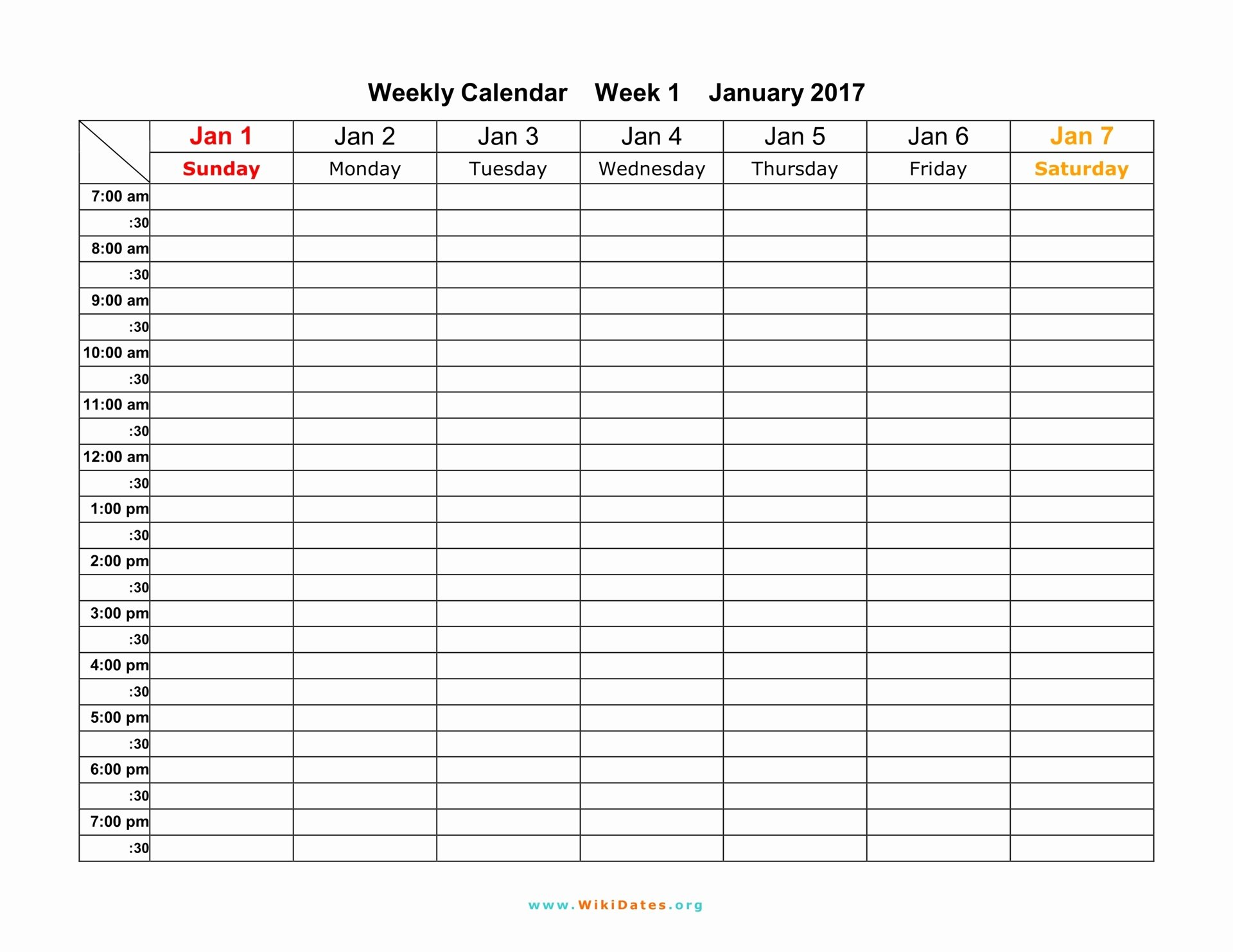 Weekly Calendar Template 2017 Luxury Weekly Calendar Download Weekly Calendar 2017 and 2018