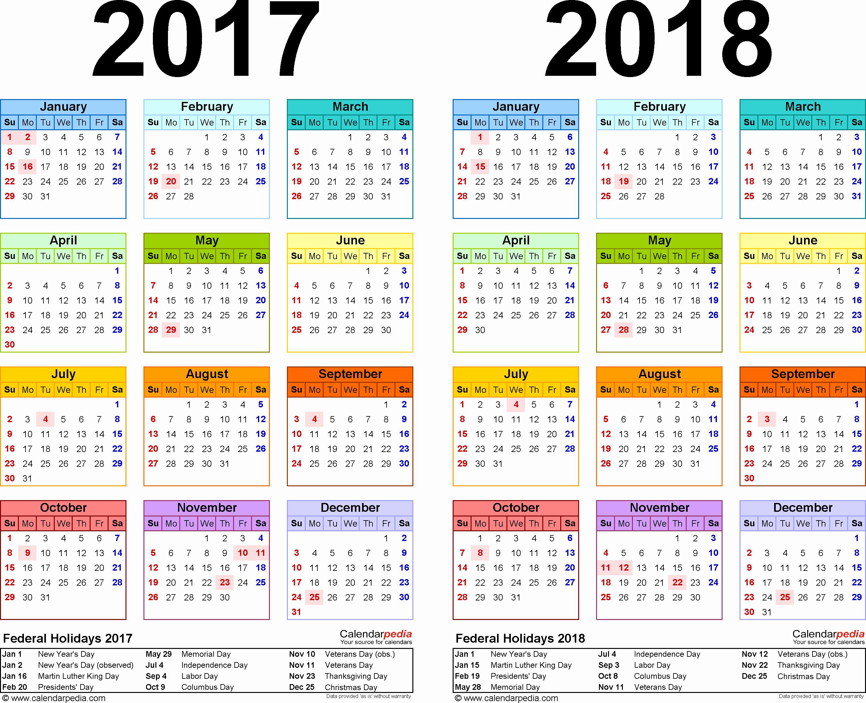 Weekly Calendar Template 2017 Unique Weekly Calendar 2018