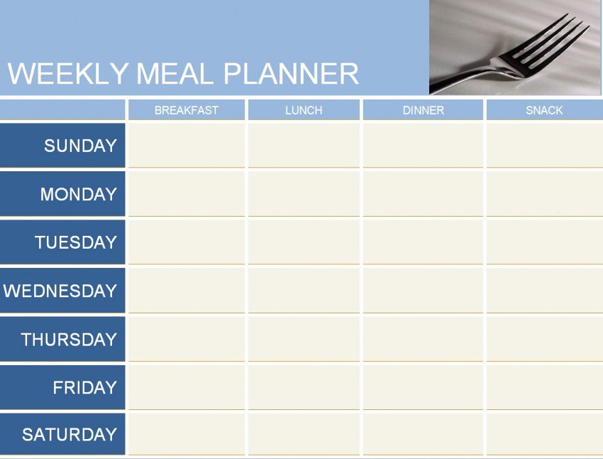 Weekly Meal Planner Template Word Lovely Weekly Meal Planner Template Haven
