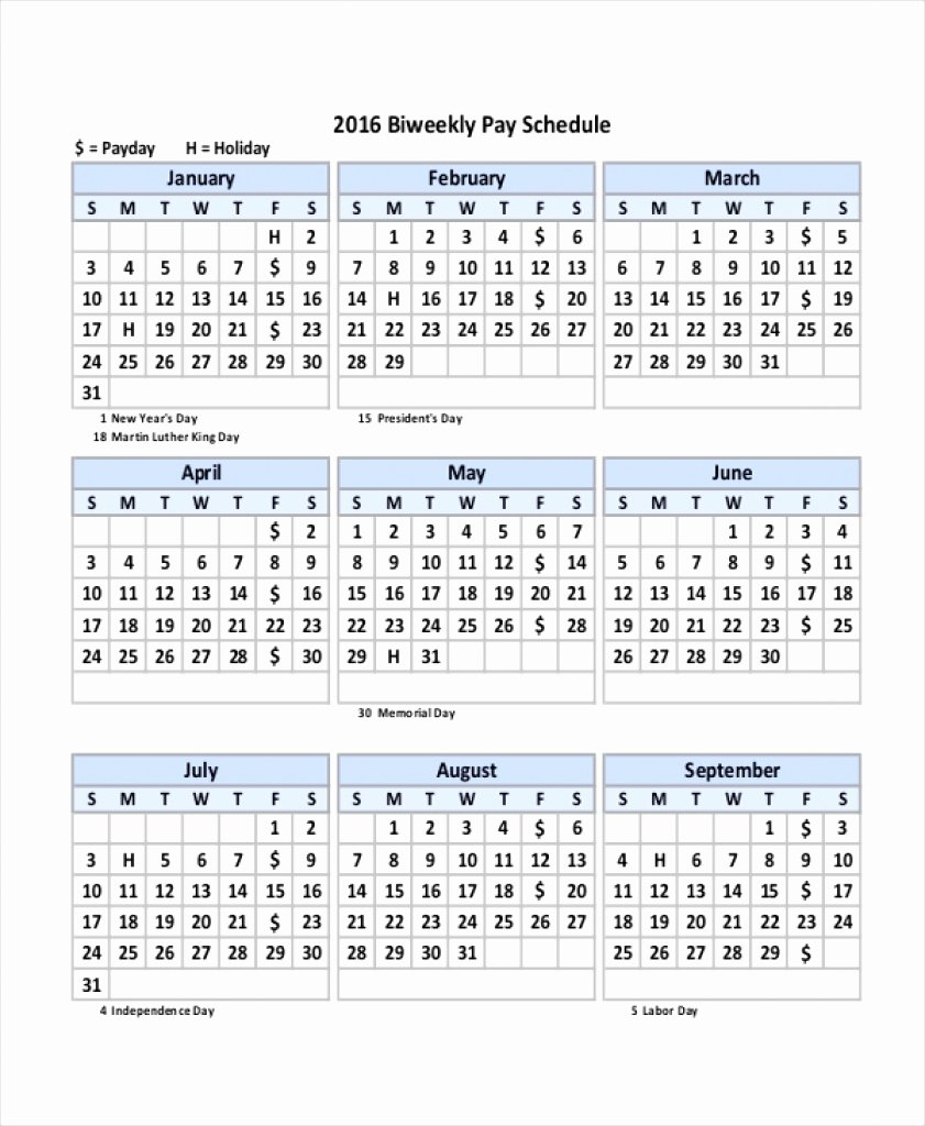 Weekly Payroll Calendar 2019 Luxury fortnightly Pay Calendar 2018 19