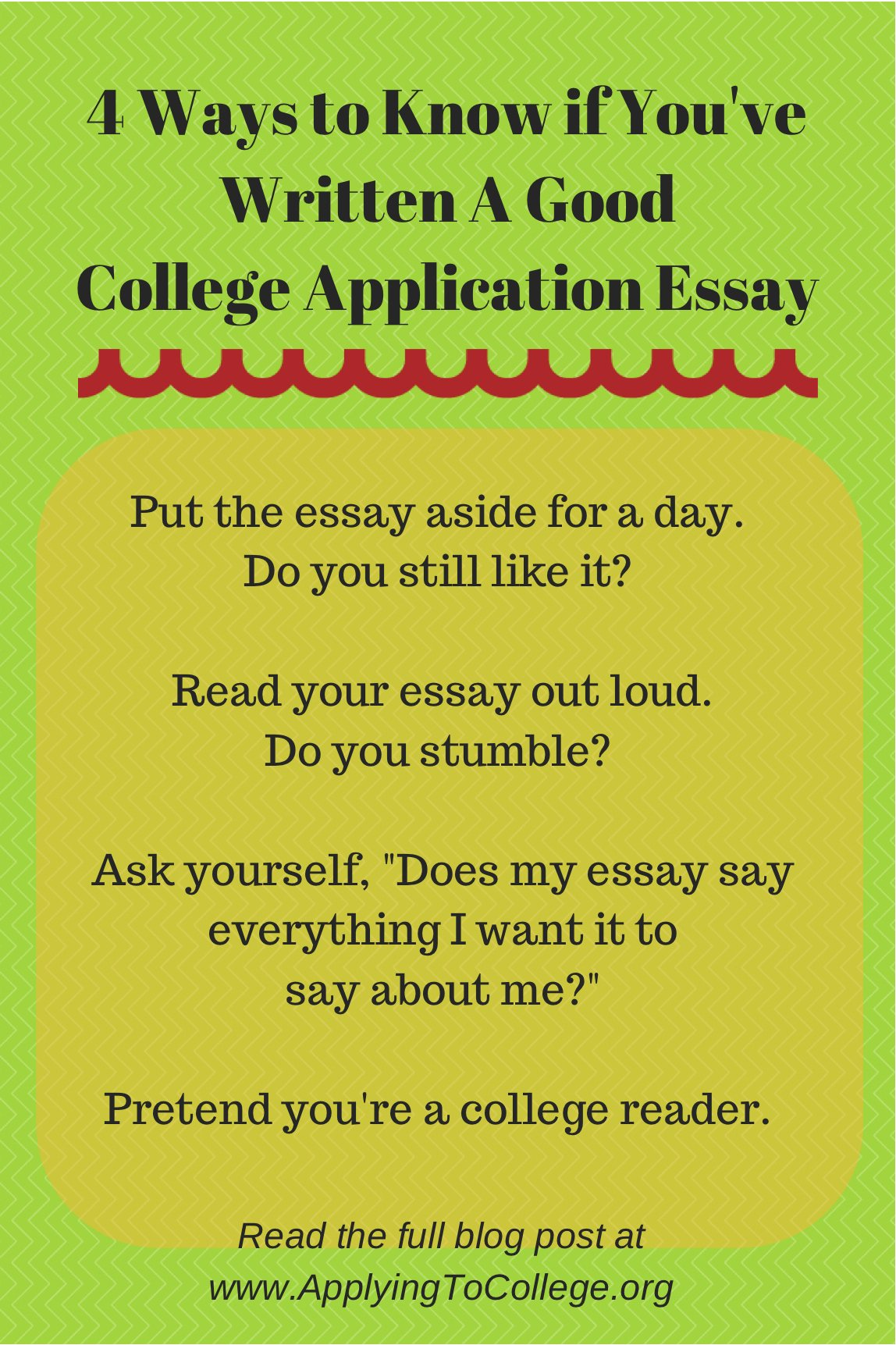 Well Written Essays Examples Elegant Applying to College