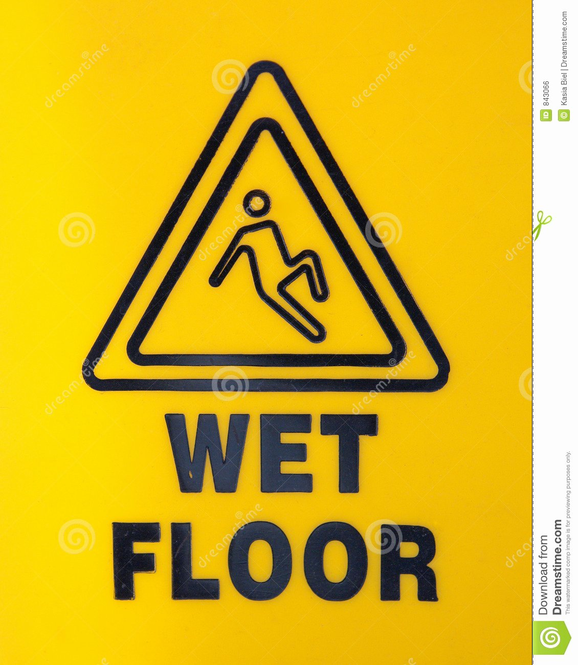 Wet Floor Signs Printable Beautiful Wet Floor Sign Royalty Free Stock Image Image