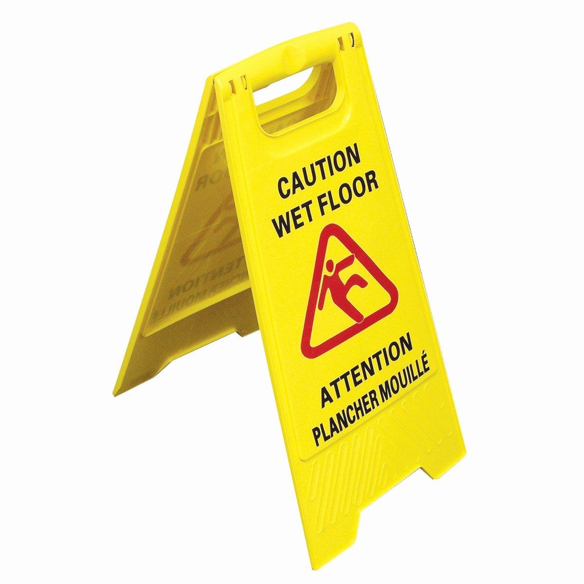 """Wet Floor Signs Printable Lovely Bilingual Floor Sign """" Caution Wet Floor"""" In Print Two"""