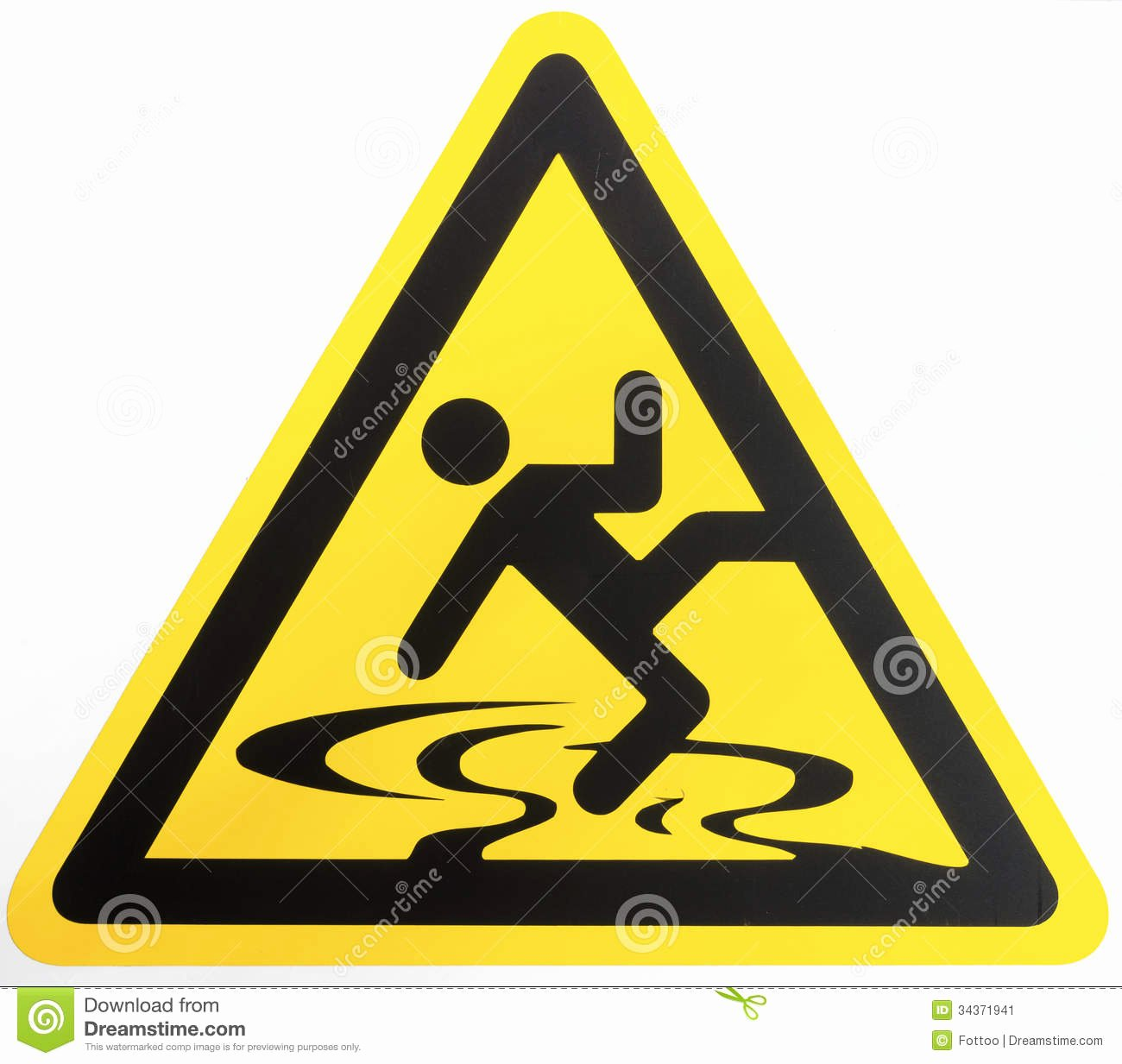 Wet Floor Signs Printable Lovely Caution Wet Floor Sign Stock Image Image
