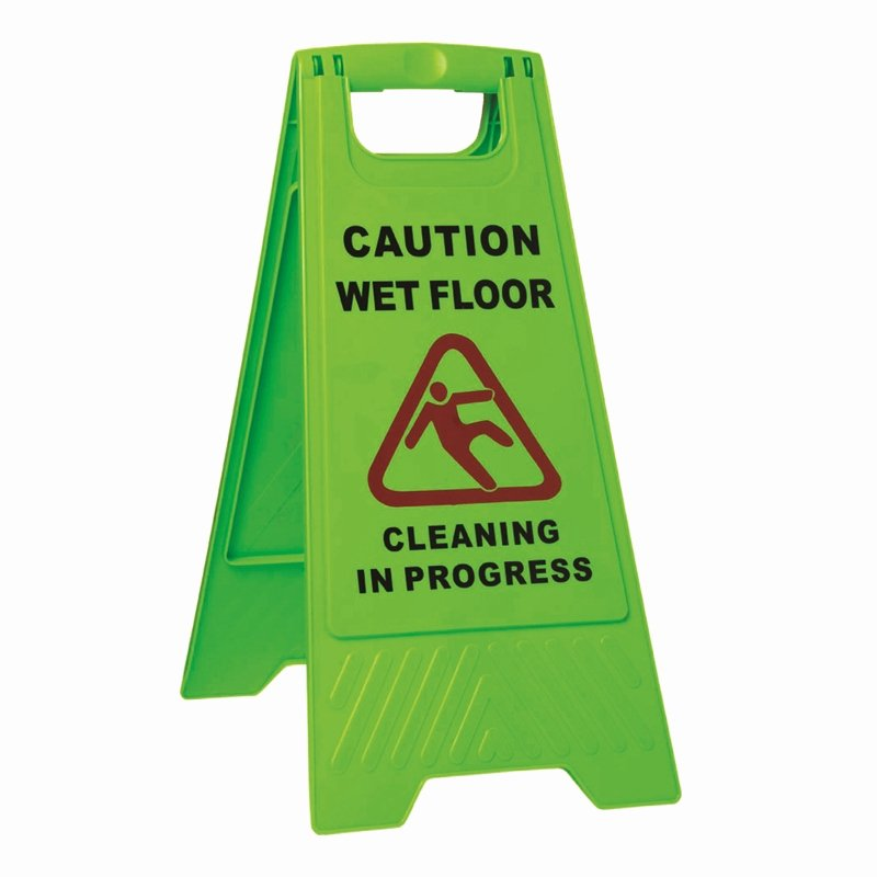 Wet Floor Signs Printable Lovely Sabco Green Caution Wet Floor A Frame Sign
