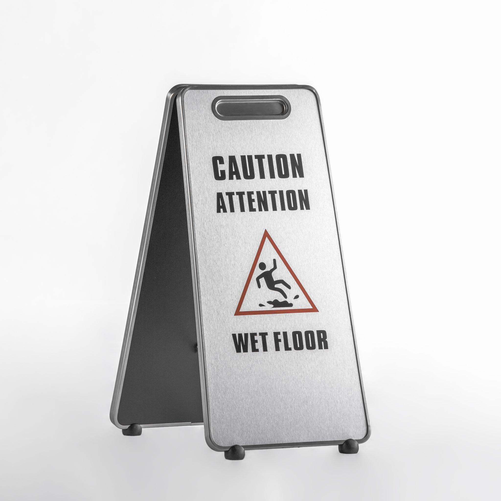 Wet Floor Signs Printable Unique Aluminum Caution Wet Floor Sign Caf 508 – Canaan