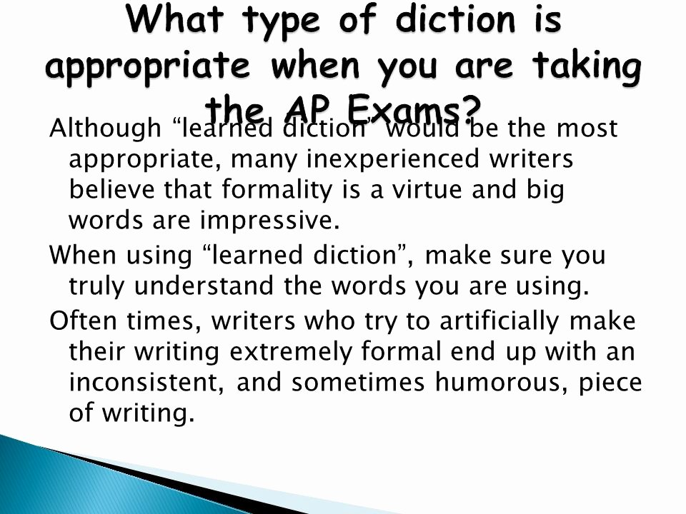 What is the Definition Of Impressive New Effective Diction or Word Choice In Writing Ppt Video