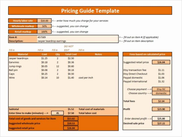 Wholesale Price Sheet Template Best Of 25 Price List Templates Doc Pdf Excel Psd