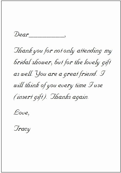 Will You Be My Bridesmaid Letter Template Inspirational 25 Best Ideas About Thank You Card Wording On Pinterest