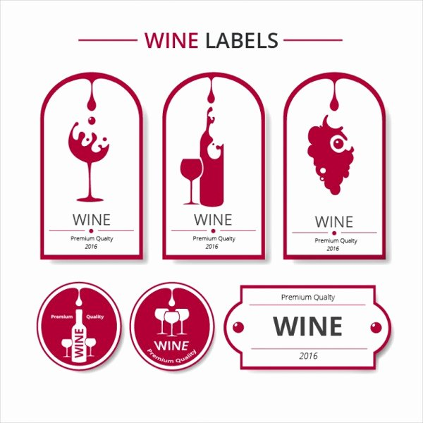 Wine Label Template Photoshop Awesome 61 Downloadable Label Templates