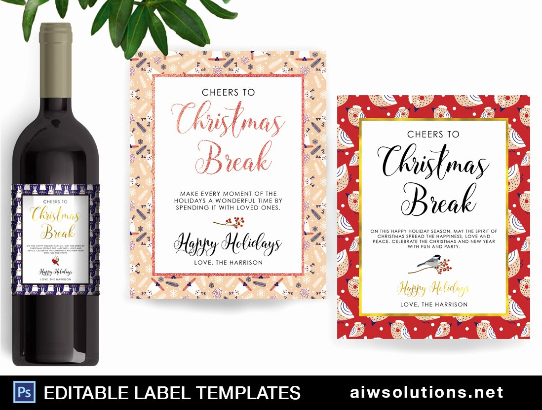 Wine Label Template Photoshop Awesome Candle Label Template Id40