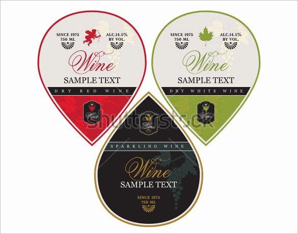 Wine Label Template Photoshop Beautiful 35 Wine Label Templates