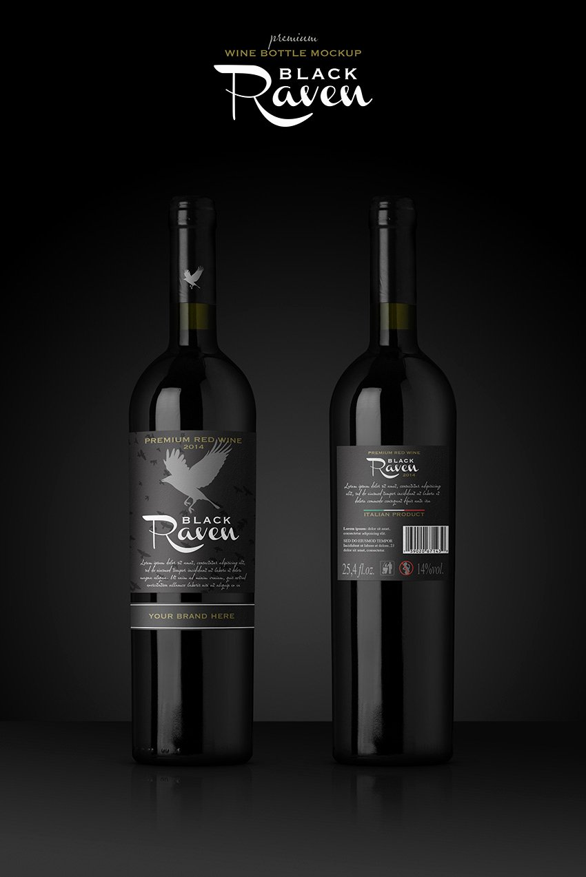 Wine Label Template Photoshop Beautiful How to Create A Realistic Wine Bottle Mockup Template In