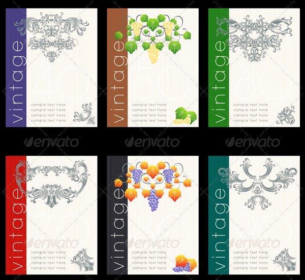 Wine Label Template Photoshop Elegant 80 Best Creative Designs Of Wine Labels & Stickers