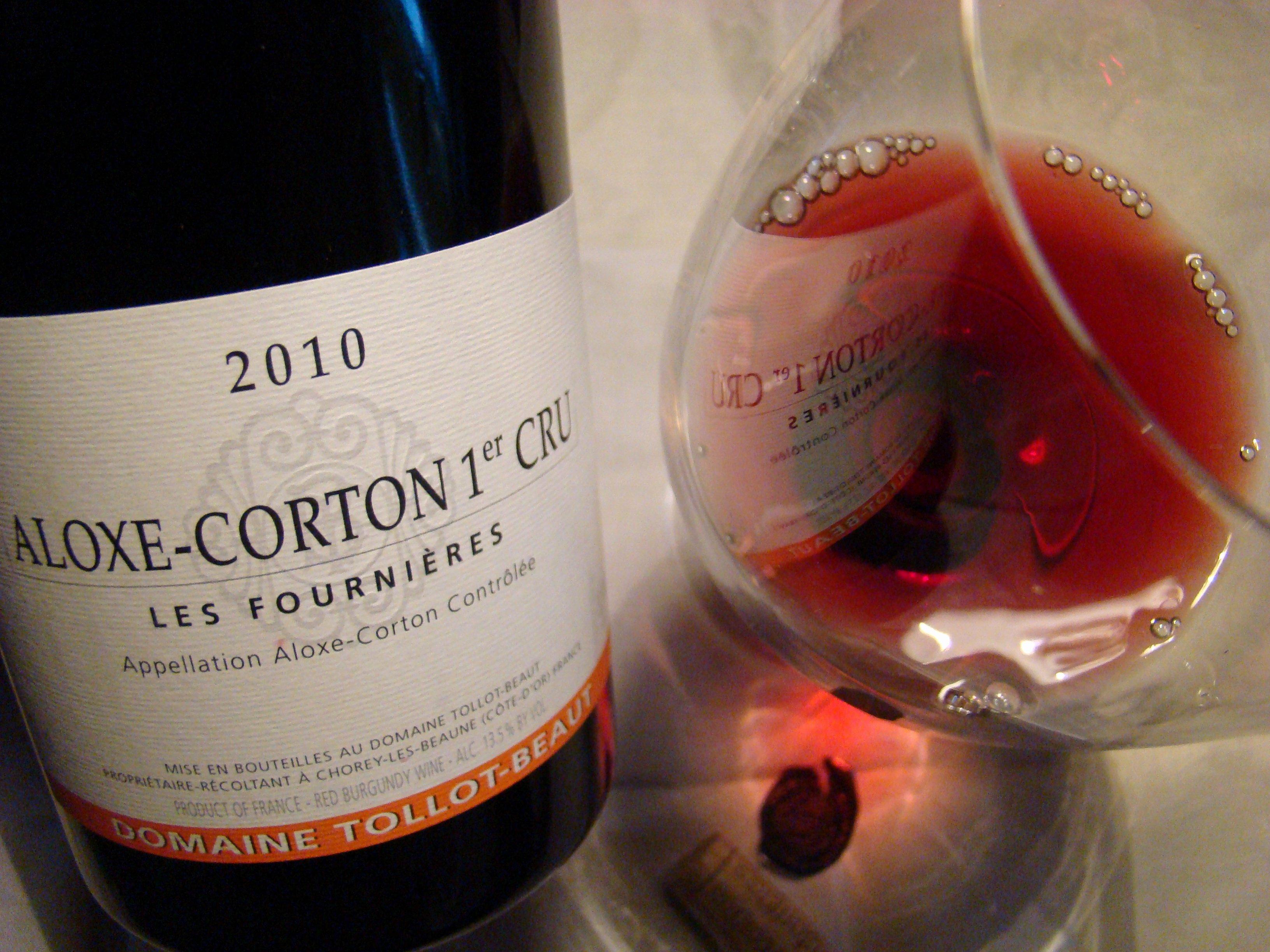 Wine Tasting Journal Template Fresh 2010 Domaine tollot Beaut Aloxe Corton 1er Cru Les