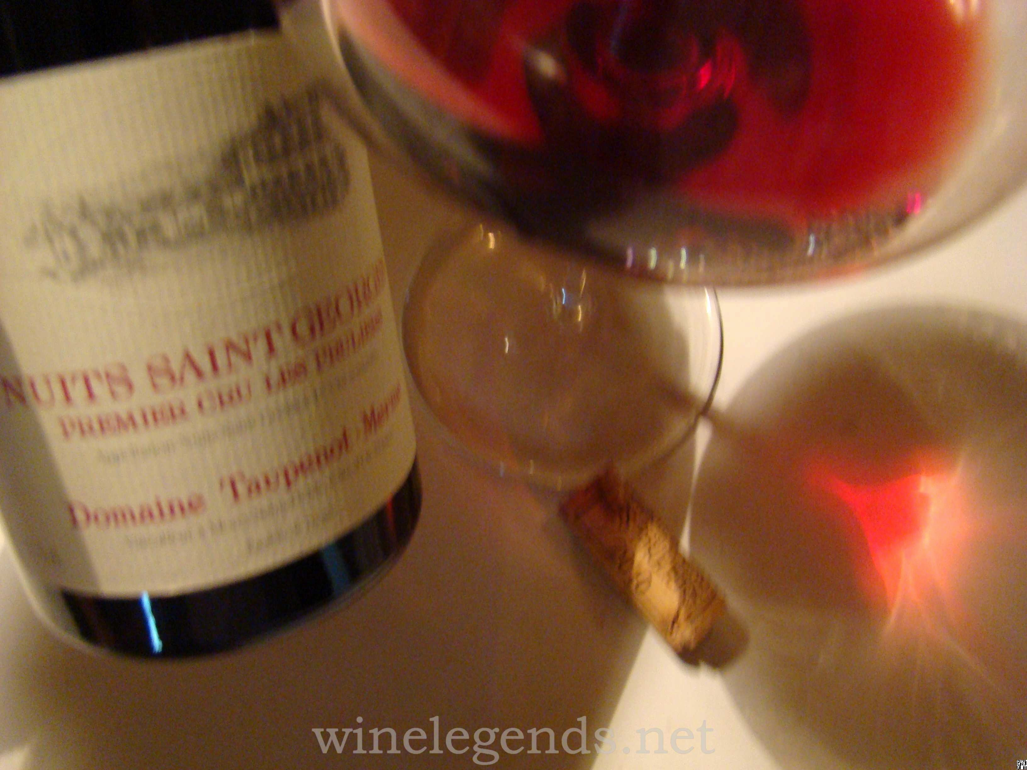 Wine Tasting Journal Template Lovely 2010 Taupenot Merme Nuits St Georges Premier Cru Les