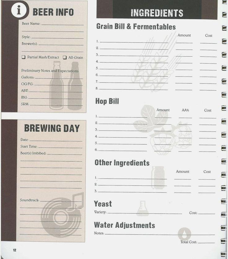 Wine Tasting Journal Template Unique 20 Best Log Book Images On Pinterest