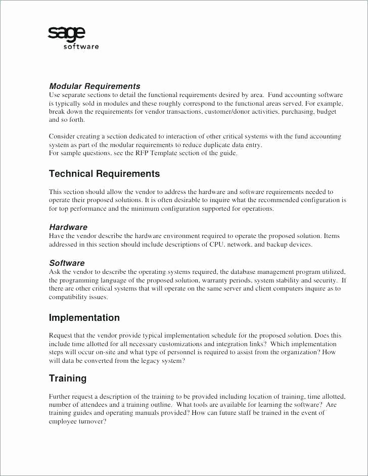 Winning Rfp Response Examples Pdf Awesome 14 Request for Proposal Sample
