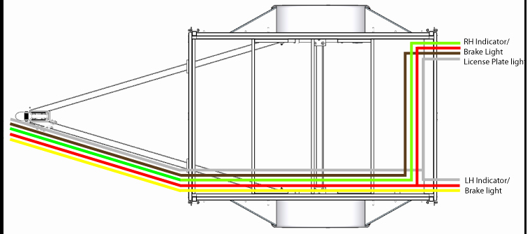 Wire Instructions Template Lovely Trailer Sauce Lights & Wiring