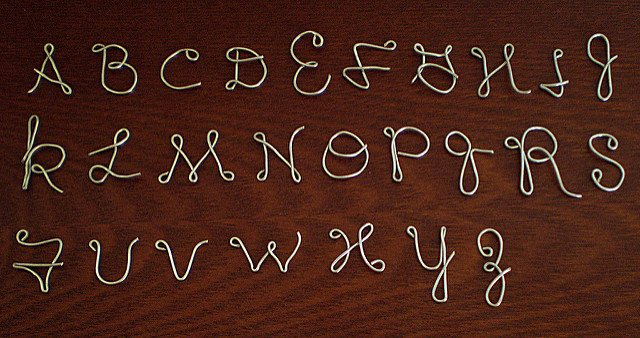 Wiring Instructions Template Awesome 39 Wire Letters with Diy Instructions