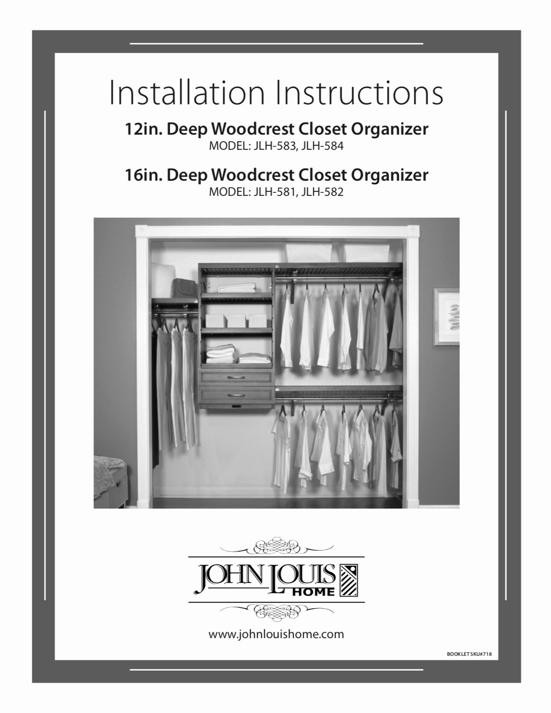 Wiring Instructions Template Best Of 12in Deep Woodcrest organizer