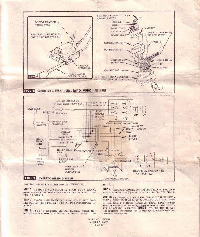 Wiring Instructions Template Elegant 1960 66 Accessories Installation Instructions & Templates