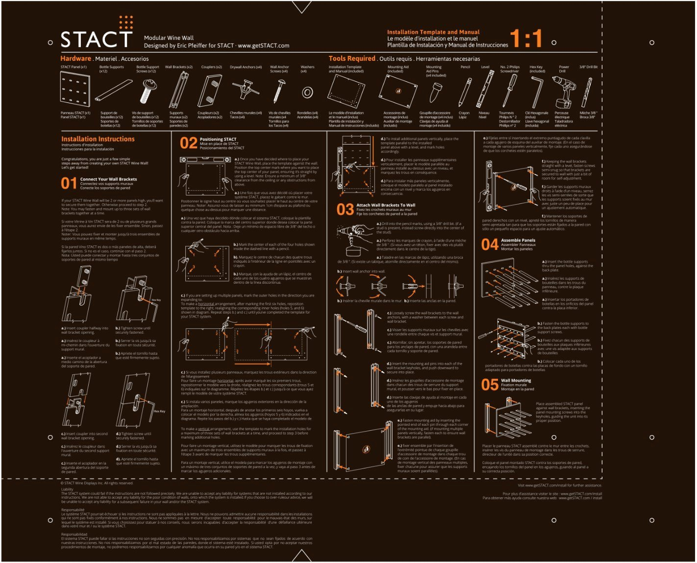 Wiring Instructions Template Inspirational Installation – Stact Wine Racks