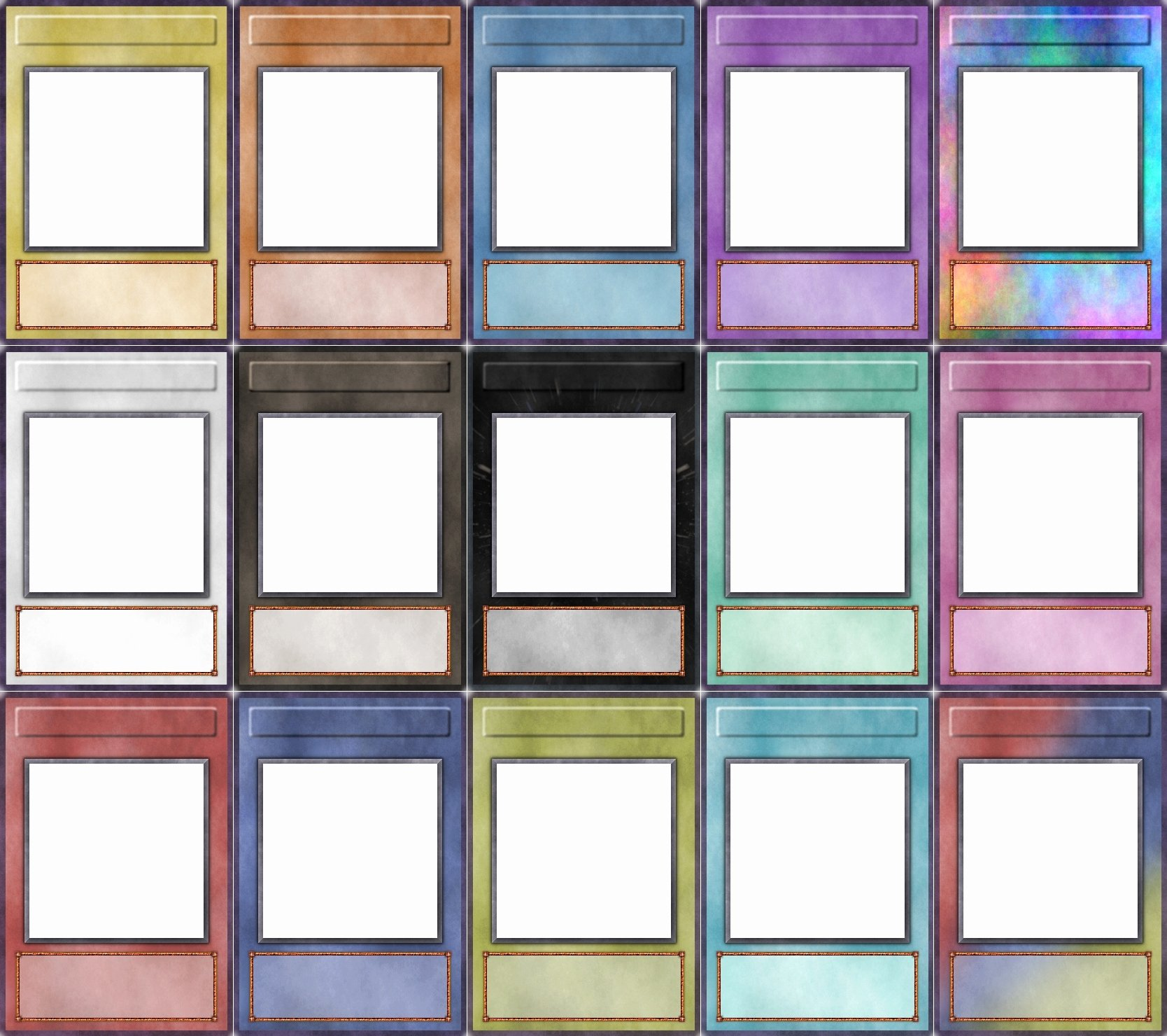 Word Trading Card Template Awesome Blank Trading Cards Template