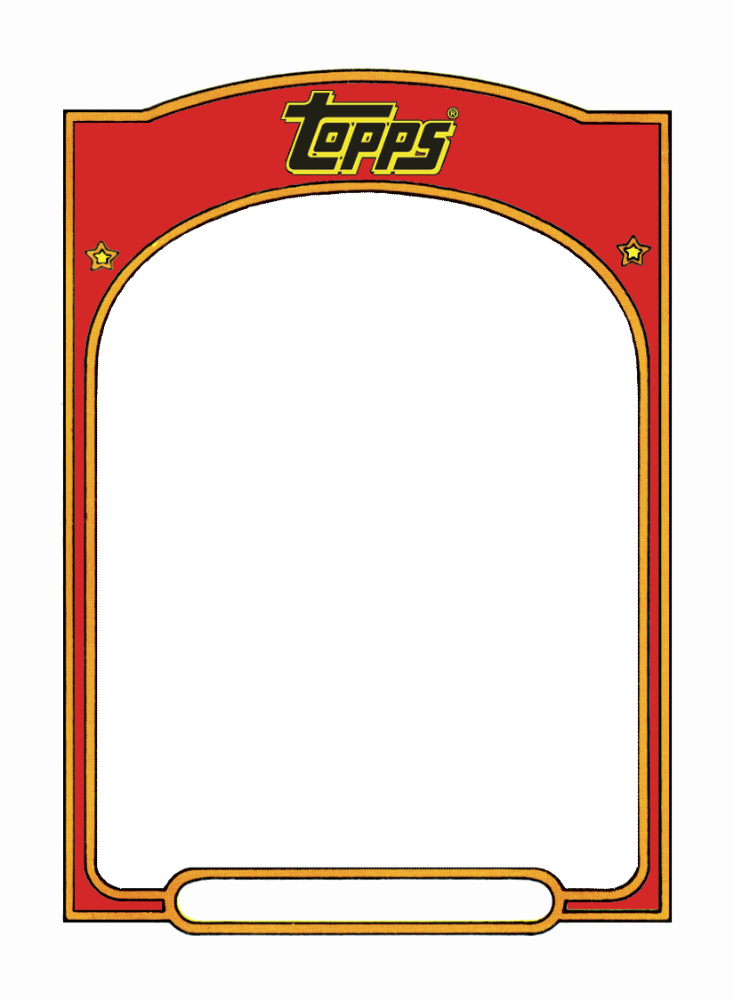 Word Trading Card Template Best Of Sports Trading Card Templet Craft Ideas