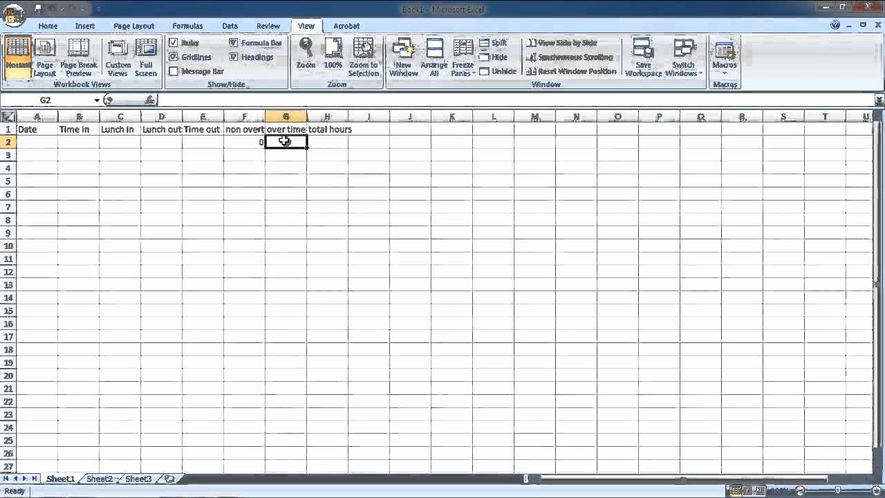 Work Hour Sheet Elegant How to Make Hourly Work Time Sheet