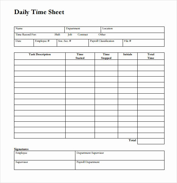 Work Hour Sheet Inspirational Sample Time Sheet 23 Example format