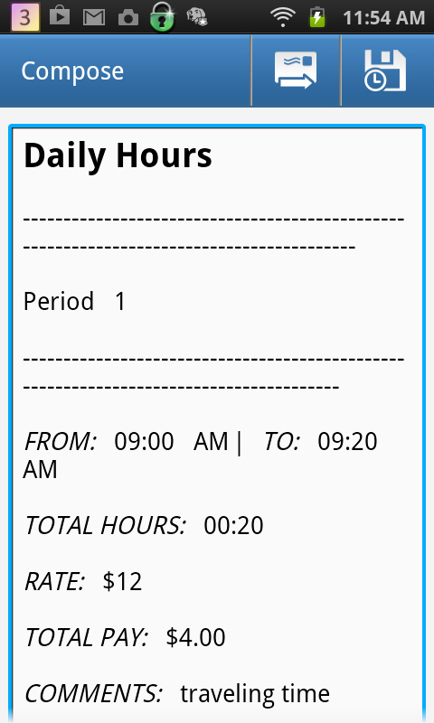 Work Hours Sheet Beautiful Calculate Work Hours Timesheet android Apps On Google Play