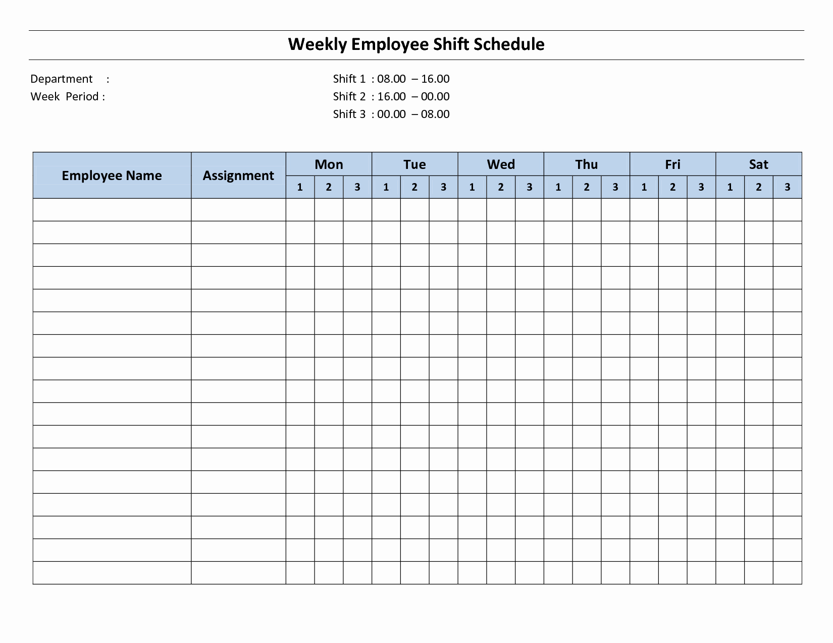 Work Hours Sheet Inspirational Free Printable Employee Work Schedules