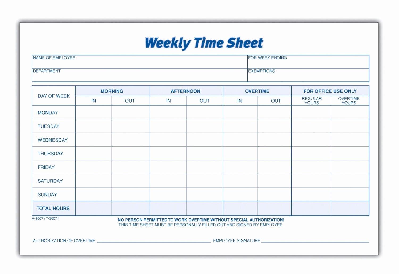 Work Hours Sheet Luxury 8 Best Of Blank Printable Timesheets Free