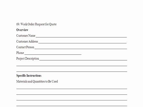 Work order Request Unique Work order Quotes Quotesgram