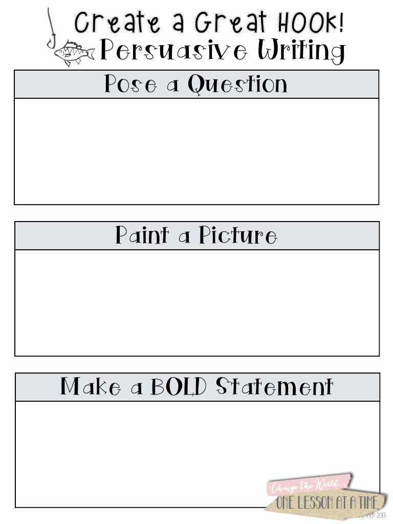 Writing Good Hooks Worksheet Fresh the Three Basic Parts Of An Essay In order are the