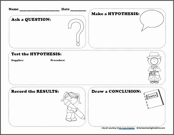 Writing Process Worksheet Pdf Fresh Free Scientific Method Worksheet for Kids