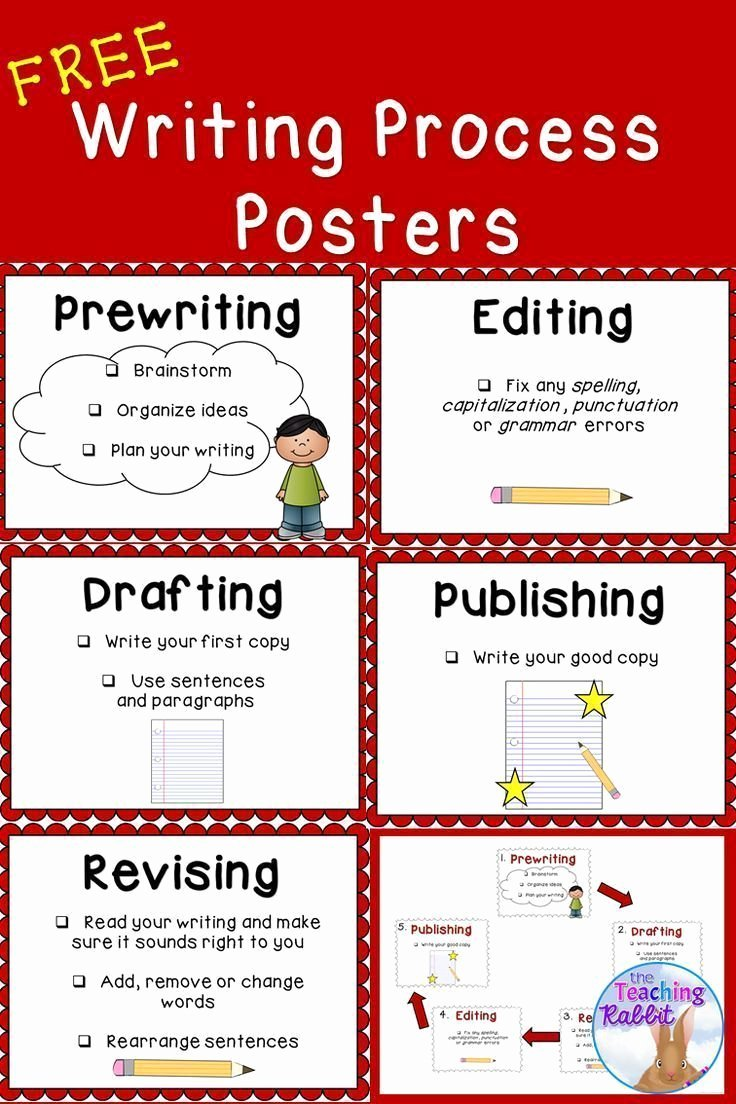 Writing Process Worksheet Pdf Inspirational 6301 Best First Grade Freebies Images On Pinterest
