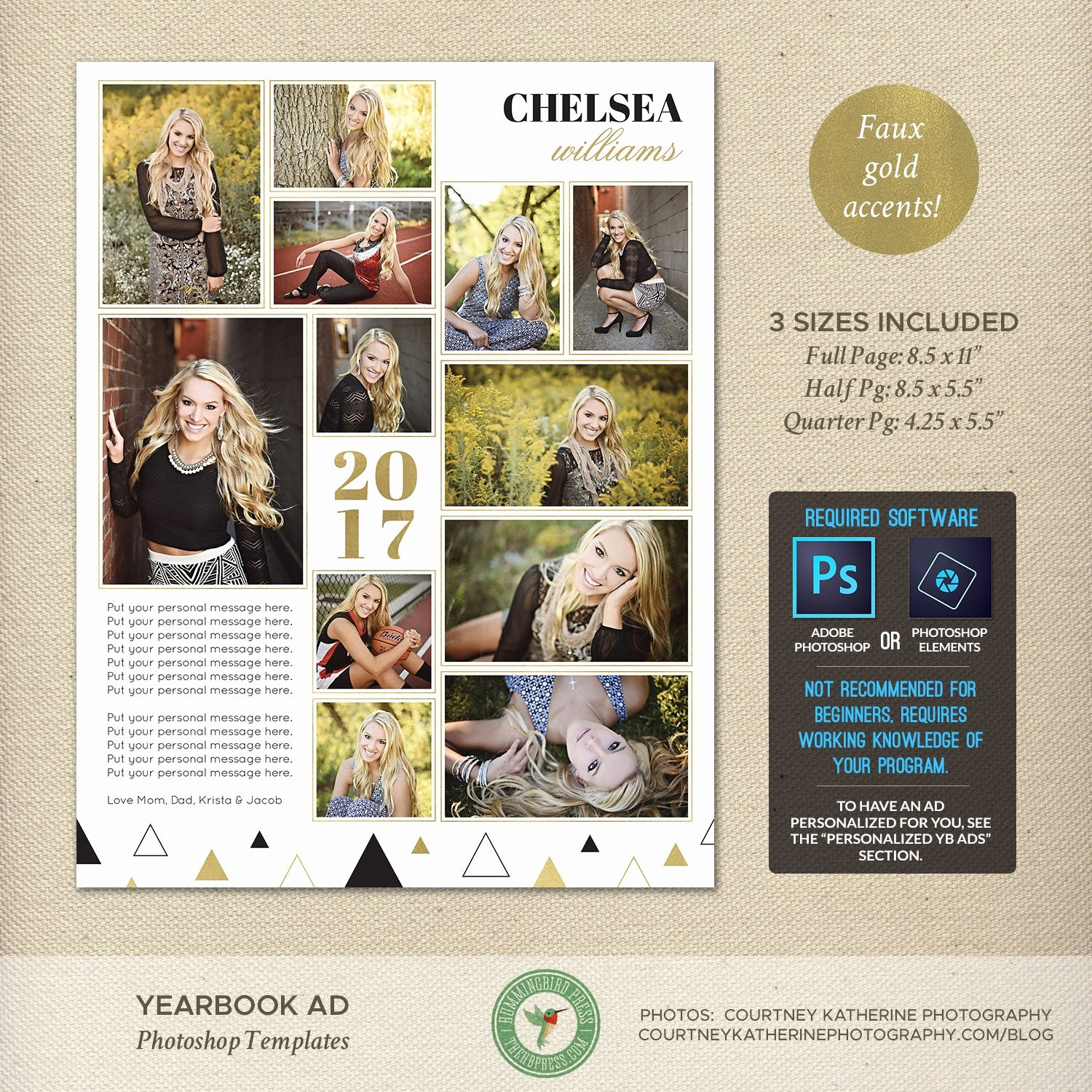 Yearbook Ad Templates Free Download Awesome Senior Yearbook Ad Templates Graduation Ad High School