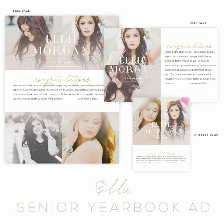 Yearbook Ad Templates Free Download Best Of 1000 Images About Senior Year On Pinterest