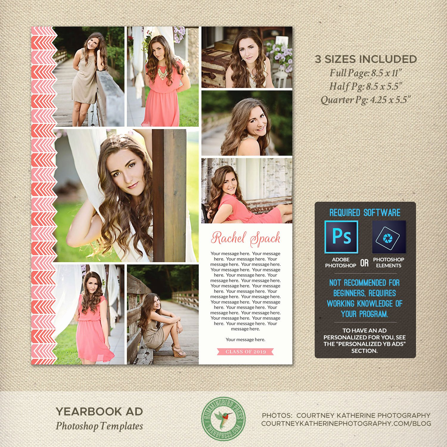 Yearbook Ad Templates Free Download Best Of Senior Yearbook Ad Shop Templates Graduation Ad High