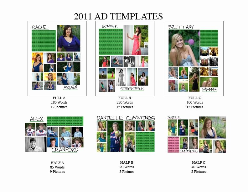 Yearbook Ad Templates Free Download Elegant Senior Ad Templates so Much Better then What We are Doing