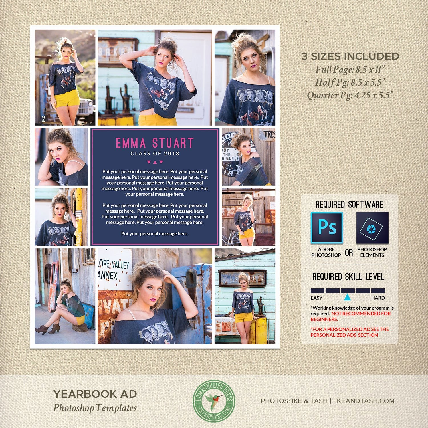 Yearbook Ad Templates Free Download Elegant Senior Yearbook Ad Templates Graduation Ad High School