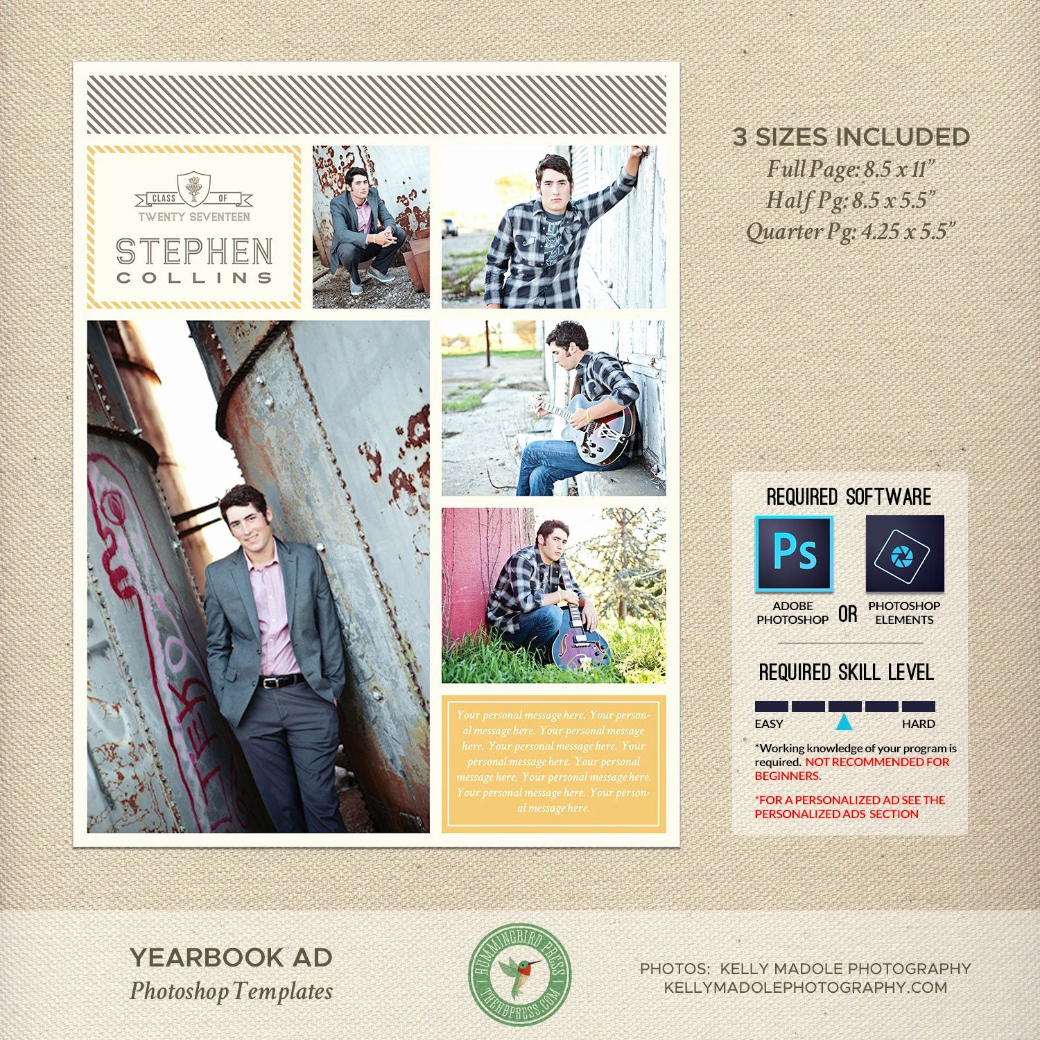 Yearbook Ad Templates Free Download Fresh Graduation Yearbook Ad Templates Senior Ad High School