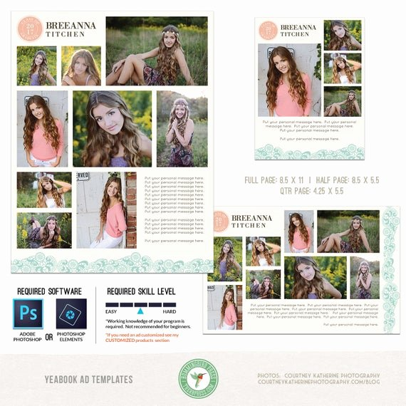 Yearbook Ad Templates Free Download Fresh Yearbook Ad Templates Senior Ad Graduation Ad High School